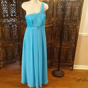 Long light blue dress, size 8